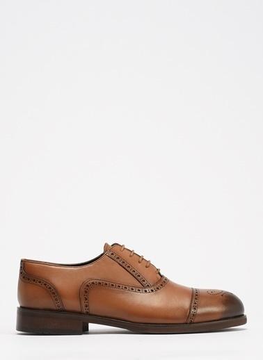 D by Divarese Deri Klasik Ayakkabı Taba